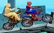 Homem-aranha bike