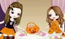 Irmãs no Halloween