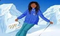 Kitana esquiadora
