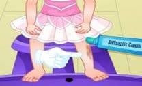 Lesão Da Bebê Barbie Bailarina