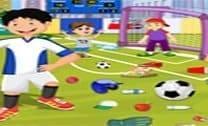 Limpando O Campo De Futebol