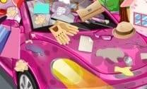 Limpando o Carro Rosa