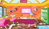Limpe O Salão De Cabelo 2