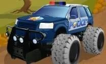 Louco carro de polícia