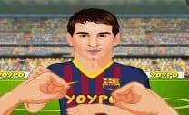Luta de Cristiano Ronaldo contra Messi