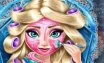 Maqueando a Elsa Frozen