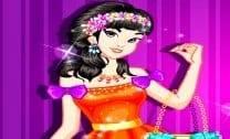 Maquiar e vestir Jasmine