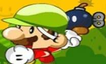 Mario atirando nos zumbis