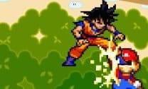 Mário contra Goku