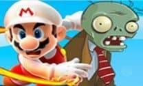 Mario contra os zumbis