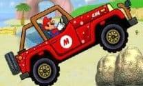 Mario Dirigindo na praia