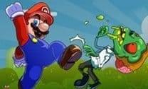 Mário e os Zumbis cogumelos