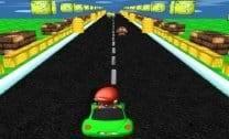 Mario em corrida 3D