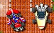 Mario estacionando Kart