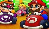 Mario Flash Race