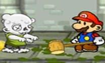 Mario no mundo dos zumbis