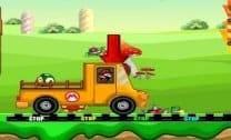 Mario Transportando Cogumelos