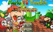 Mario vs Zombie Defense