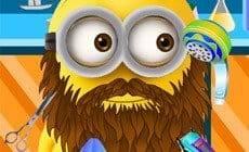 Minion Beard Shaving