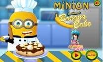 Minion faz Cooking de Banana