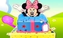 Minnie Mouse Bolo Surpresa