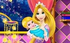 Mommy Rapunzel Crib Decor