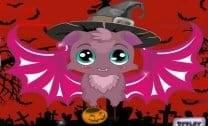 Morcego de halloween