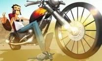 Motociclista do Deserto
