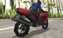 Motoqueiro Deserto 3D