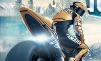 Motoqueiro na Neve 3D