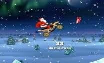 Motoqueiro Papai Noel