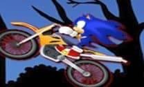 Motos de Sonic na noite de halloween