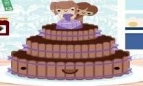 O bolo do casamento da Júlia
