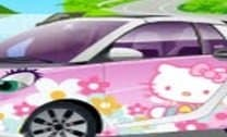O carro da Hello Kity