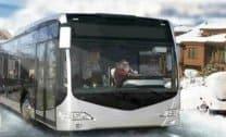 Ônibus na Neve 3D