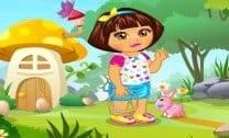 Páscoa com a Dora