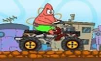 Patrick na bike