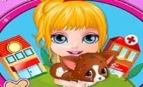 Pet Da Bebê Barbie Ferido