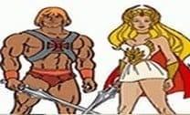 Pintar He-man e She-ra