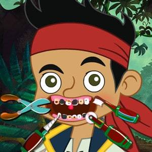 Pirata Jack Cuidando Dos Dentes