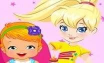 Polly e sua irmãzinha