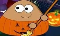 Pou Limpeza De Halloween