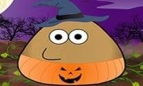 Pou Traje De Halloween