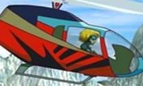 Pousar Helicóptero na plataforma