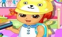 Preparar Dora para Escola