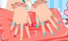 Princess Anna Wedding Nails