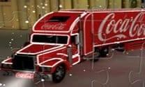 Puzzle do Caminhão de Coca-Cola