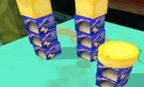Queijo no Chão 3D