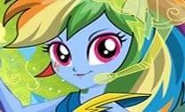 Rainbow Dash Rainbooms Estilo