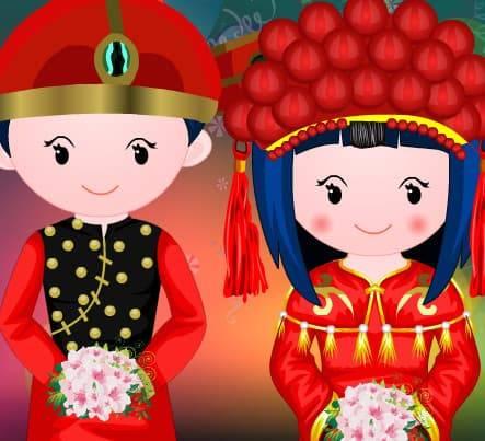 Reforma Da Boneca Chinesa De Casamento